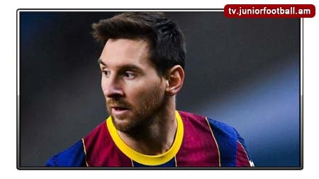 junior football tv messi